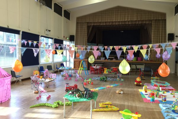 Children's Party in the Hall